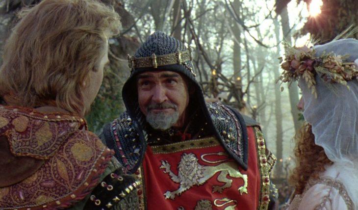 Sean Connery en Robin Hood, el Príncipe de los Ladrones