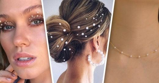 17 Maneras de llevar perlas y verte moderna