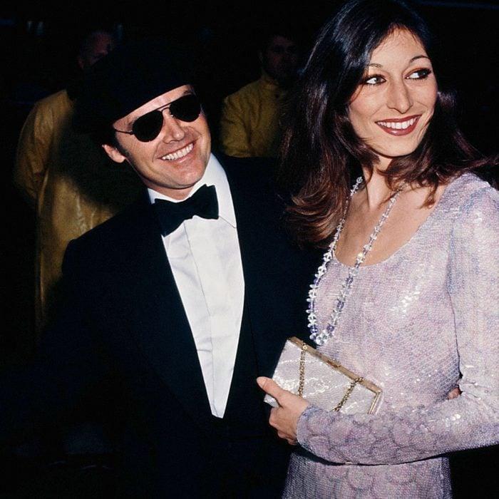 Jack Nicholson y Anjelica Huston