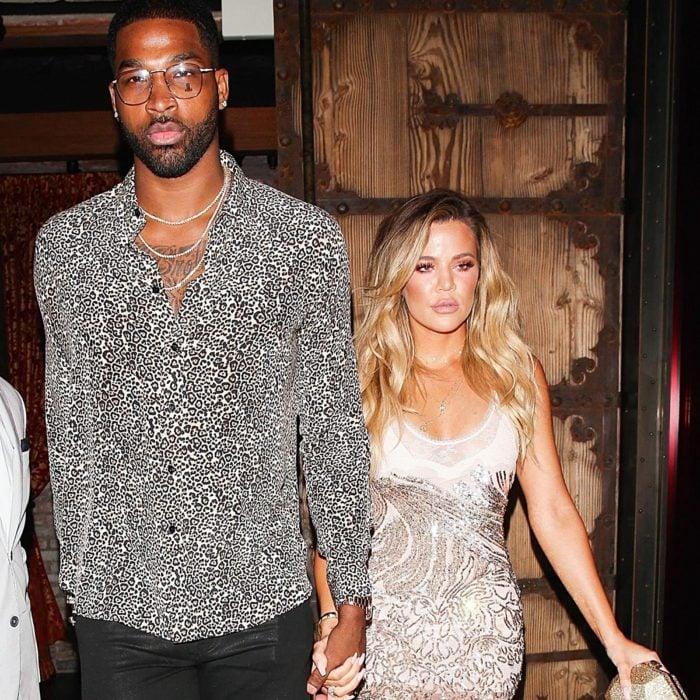 Khloé Kardashian y Tristan Thompson