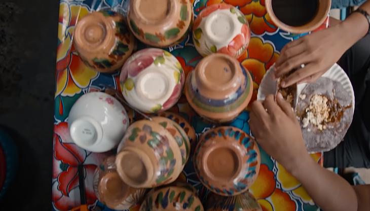 escena de street food: latinoamérica