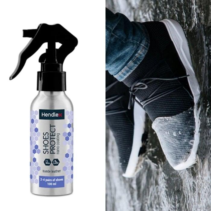 spray impermeable para los zapatos