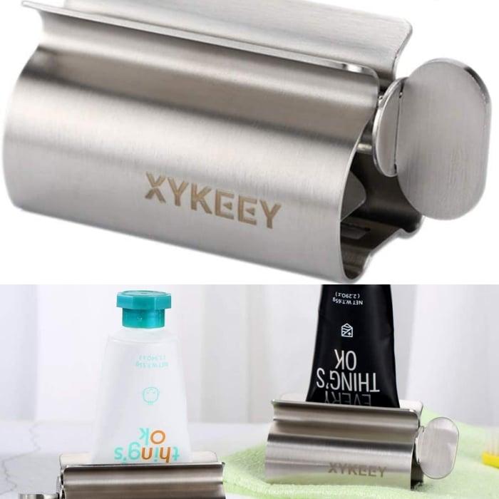 rodillo para pasta de dientes, productos skincare