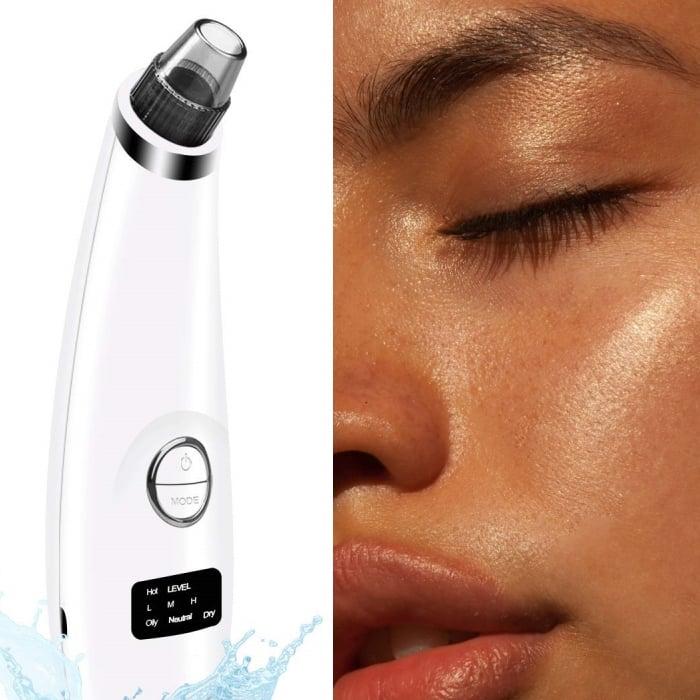 extractor de puntos negros e imperfecciones para el rostro