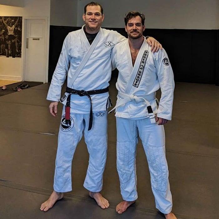 henry cavill practica jiu jitsu