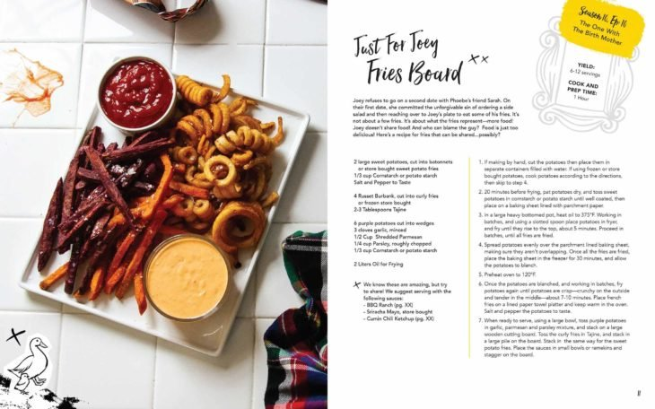 Receta del libro 'Friends: The Official Cookbook'