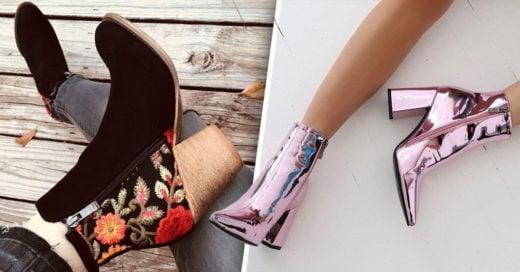 15 Zapatillas de tacón ancho que te enamorarán