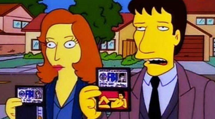 Crossover de Los expedientes secretos X y Los Simpson
