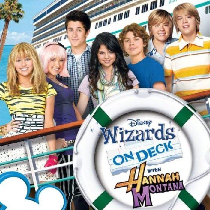 Crossover de las series Los hechicerosde Waverly Place, Hannah Montana y Zack y Cody: Todos a bordo.