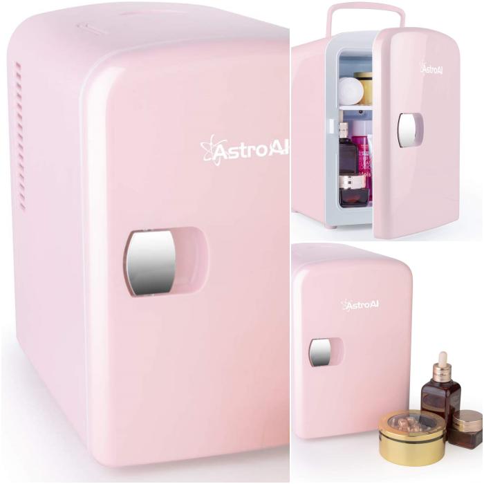 mini fridge mini refrigerador para productos de skincare