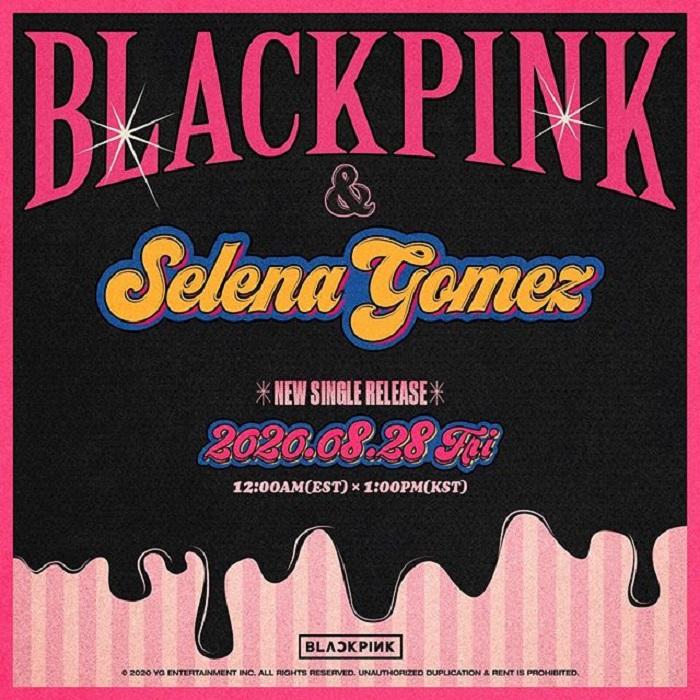 Publicidad del sencillo 'Ice Cream' de Blackpink y Selena Gomez