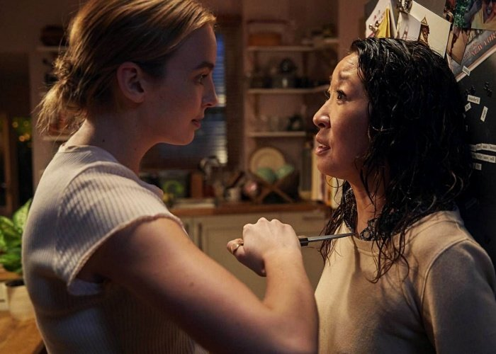 escena de killing eve