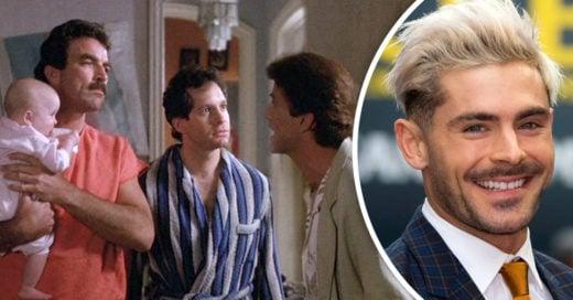 Zac Efron protagonizará el remake de 'Tres hombres y un bebé'