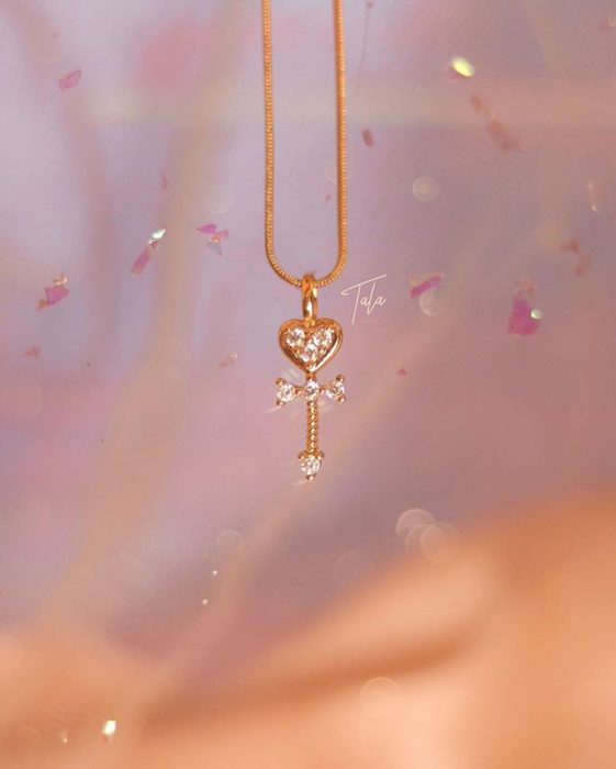 TALA by Kyla necklace from Space Time Key Sailor Moon