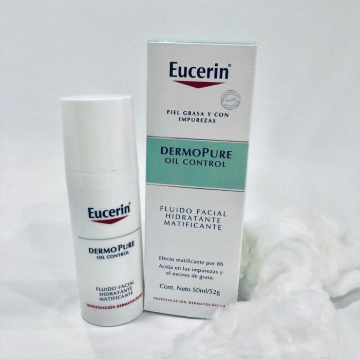 Dermopure fluido matificante de Eucerin