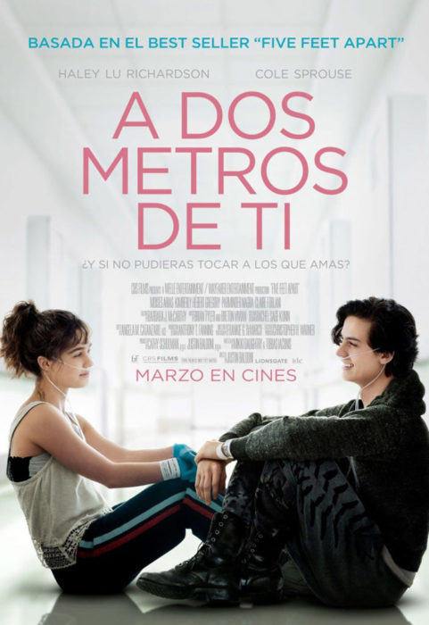 Poster de la película A dos metros de ti