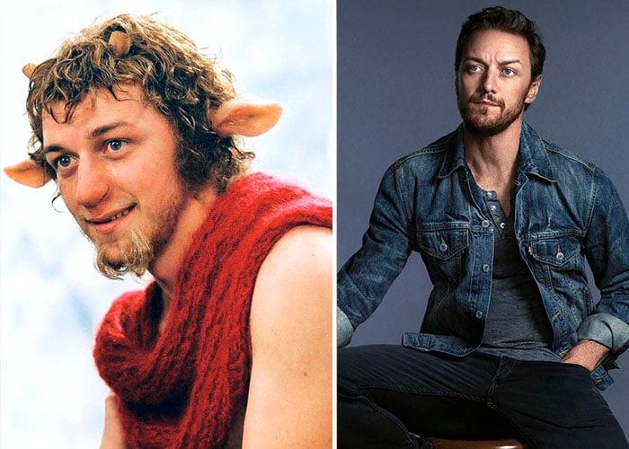 James McAvoy – Señor Tumnus antes y después