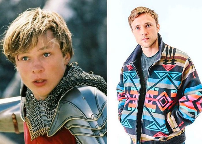 William Moseley – Peter Pevensie antes y después