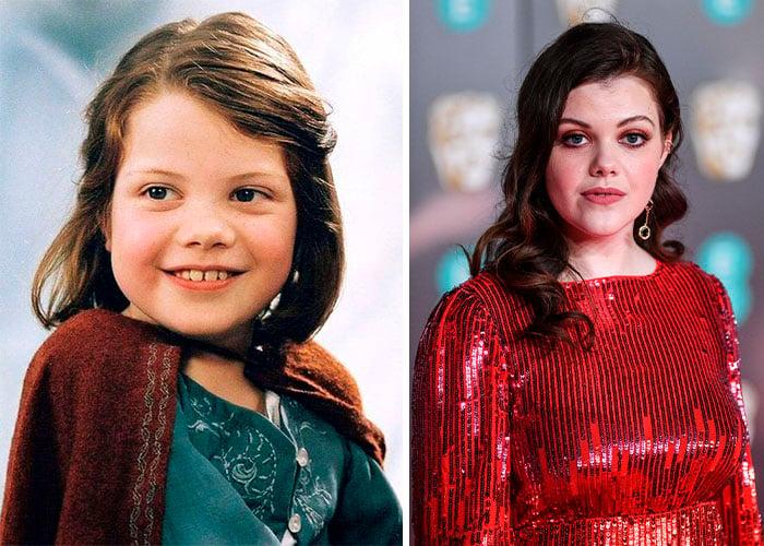 Georgie Henley – Lucy Pevensie antes y después