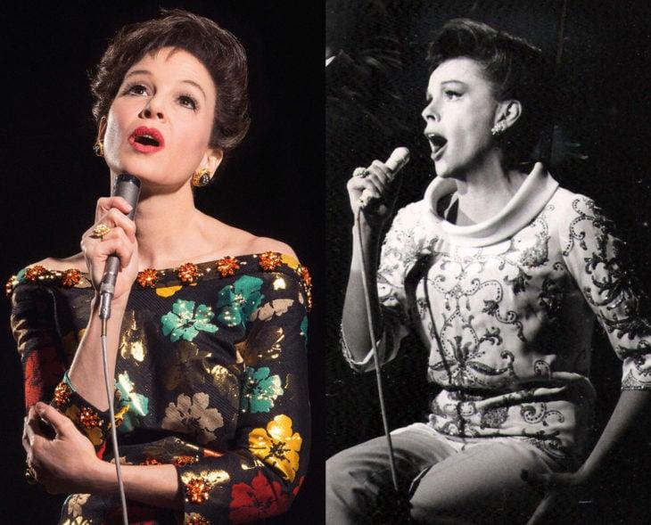 Actores que se parecen a los personajes históricos que interpretaron en películas; Renée Zellweger, Judy Garland