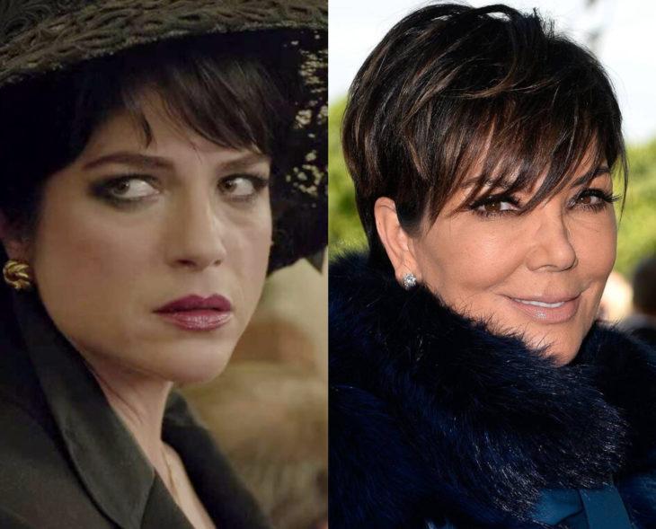 Actores que se parecen a los personajes históricos que interpretaron en películas; Selma Blair, Kris Jenner, American Crime Story