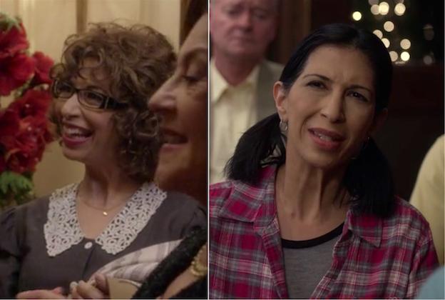 Rose Abdoointerpretando a dos personajes diferentes de la serie Gilmore Girls