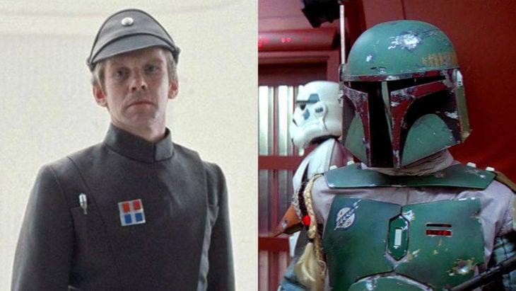 Jeremy Bullochinterpetando a dos personajes diferentes en Star Wars