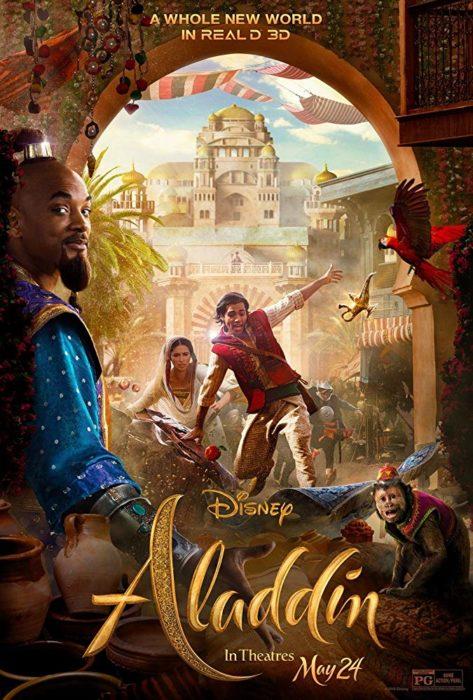 Poster de la película Aladdin