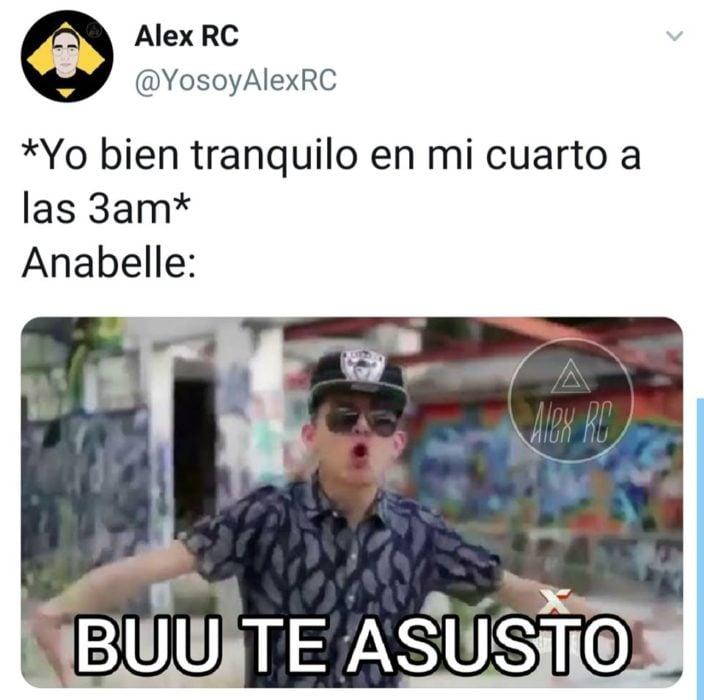 memes nos dejó desaparición muñeca conjuro Annabelle
