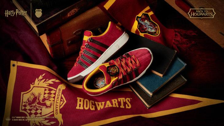Linea de tenis 'Back to hogwarts' por K-Swiss Gryffindor