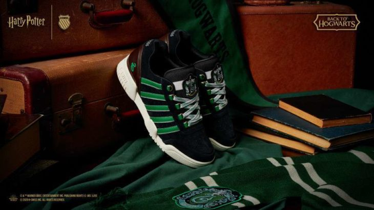 Linea de tenis 'Back to hogwarts' por K-Swiss Slytherin