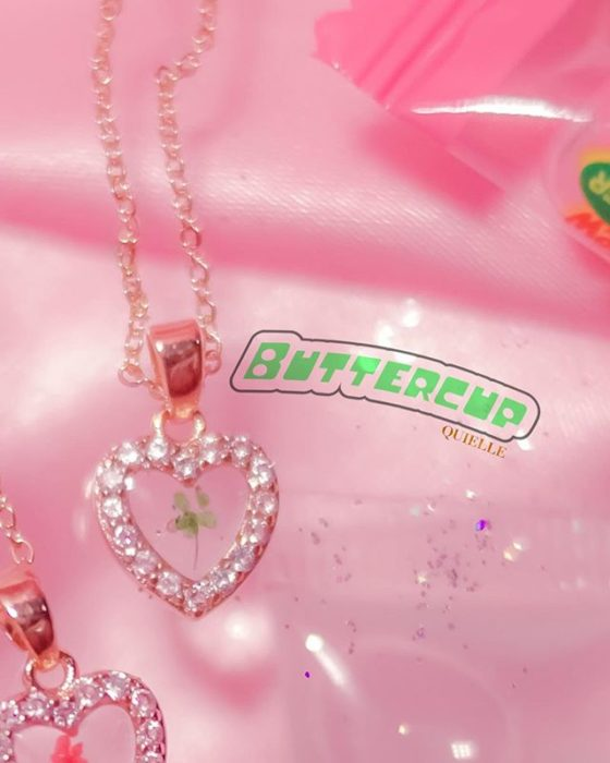 Powerpuff Girls Acorn Inspired Kyel Necklace