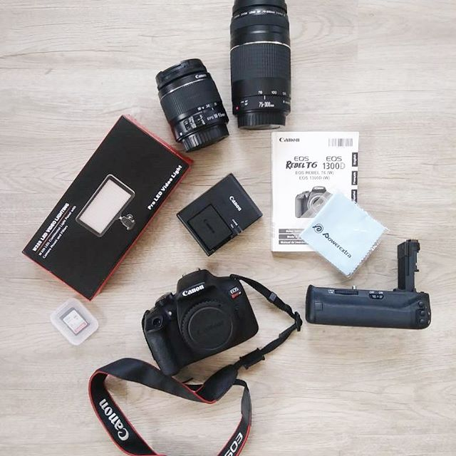 Canon camera set