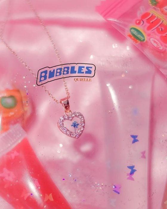 Collar de Kyel inspirado en Burbuja de las chicas superpoderosas
