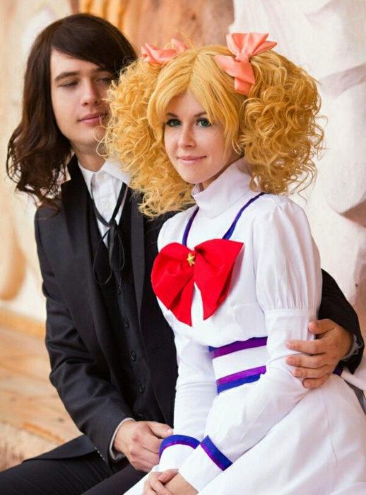 Cosplay, disfraz de Candy White Andrew y Terry