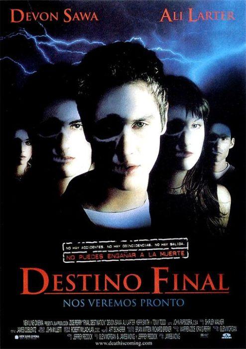 Poster de la película Destino final