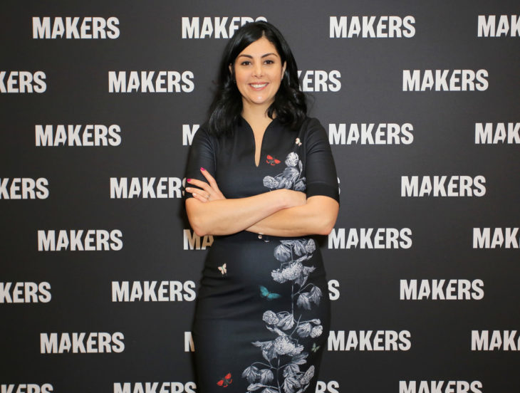 Diana Trujillo en conferencia de Makers
