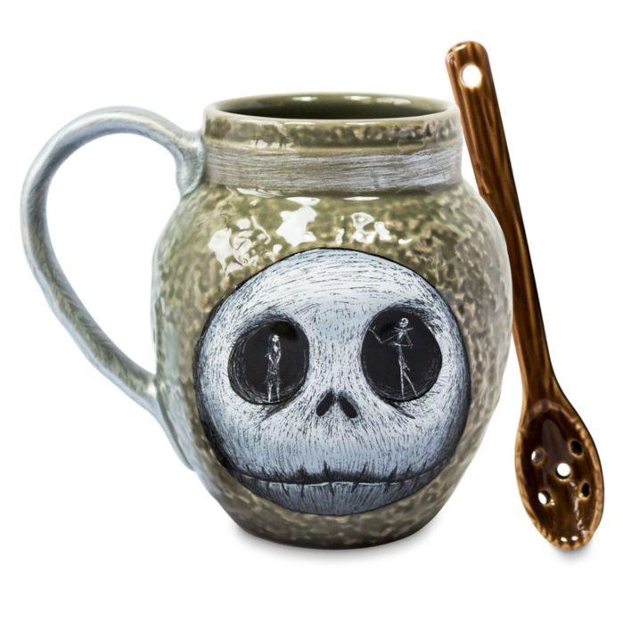 Taza de cerámica con diseño inspirado en El extraño mundo de Jack de Disney