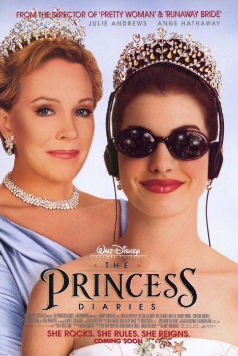 Poster de la película El diario de la princesa