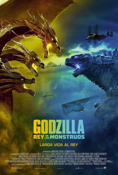 Poster de la película Godzilla: rey de los monstruos