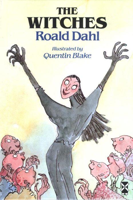 Portada del libro 'Las brujas' de Roald Dahl