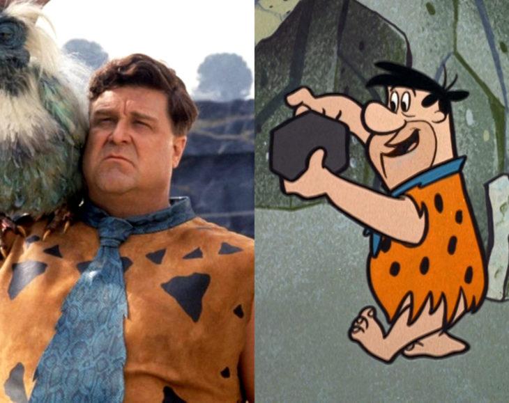 Actores que se parecen mucho al personaje animado que interpretaron; John Goddman, Pedro Picapiedra