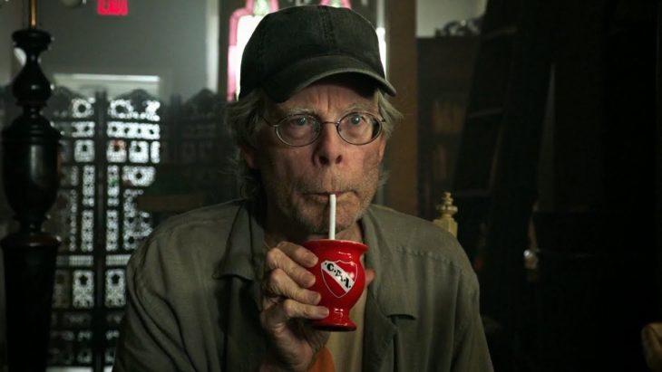 Escritor Stephen King durante un cameo en la película It: capítulo 2