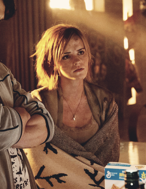 Emma Watson en un cameo durante la película This is the end