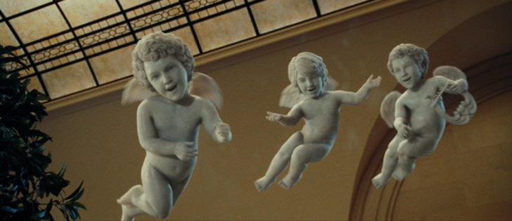 The Jonas Brothers como angelitos en el cameo de Una noche en el museo