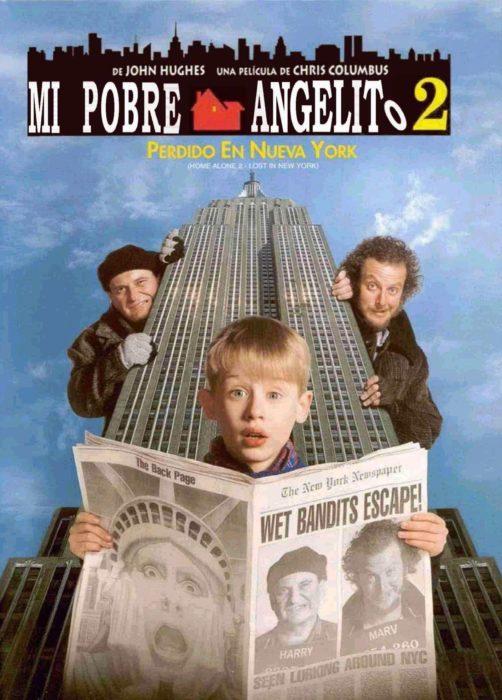 Poster de la película Mi pobre angelito 2: perdido en Nueva York