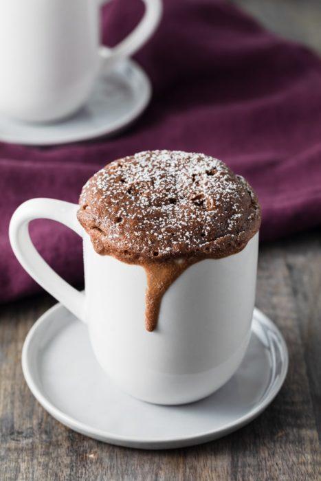 Mug cake de Tik Tok