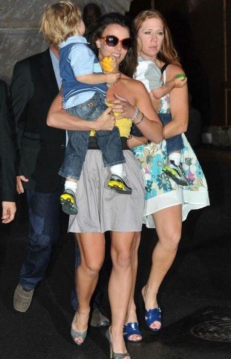 Britney Spears y su niñera