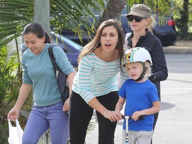 Naomi Watts y su niñera