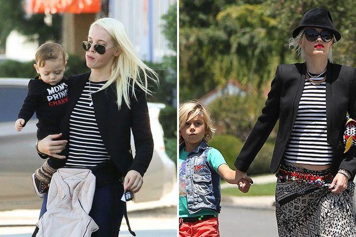 Gwen Stefani y su niñera